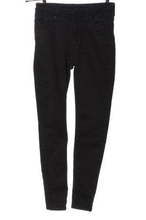 Weekday Jeans skinny nero stile casual