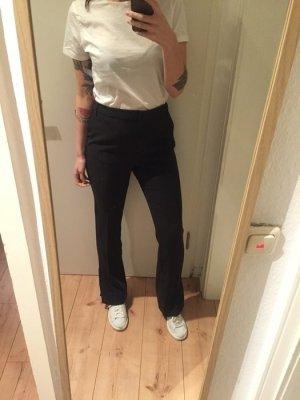 Weekday Stoff Hose mit Seitenschlitzen weites Bein neu!