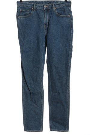 Weekday Straight-Leg Jeans blau Casual-Look