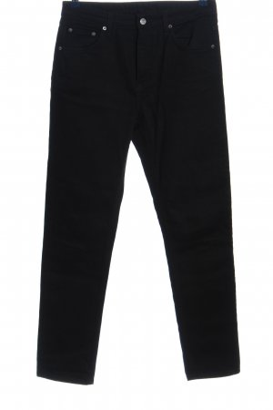 Weekday Straight-Leg Jeans schwarz Casual-Look