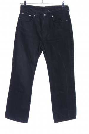 Weekday Straight-Leg Jeans schwarz Casual-Look