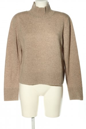 Weekday Strickpullover braun meliert Casual-Look