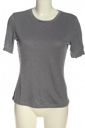 Weekday Strickshirt silberfarben meliert Casual-Look