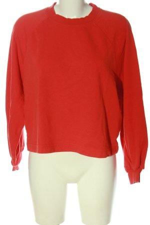 Weekday Sweatshirt rot Casual-Look