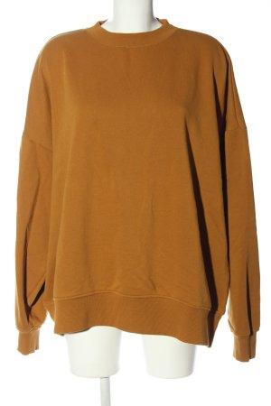 Weekday Sweatshirt hellorange Casual-Look