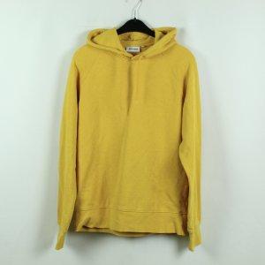 WEEKDAY Sweatshirt Hoodie Gr. S gelb oversized (20/09/420*)