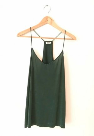 Weekday Strappy Top petrol