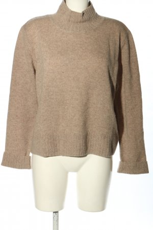 Weekday Wollpullover creme meliert Casual-Look