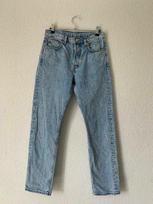 Weekday Jeans boyfriend azzurro-blu fiordaliso
