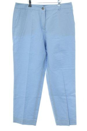 Weekend Max Mara Bundfaltenhose blau Casual-Look