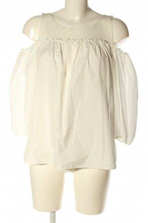 Weekend Max Mara Cut Out Top natural white business style