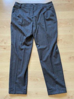 Weekend Max Mara Pantalon en laine gris