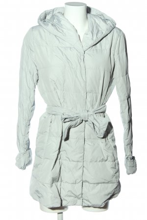 Weekend Max Mara Kapuzenjacke türkis Steppmuster Casual-Look