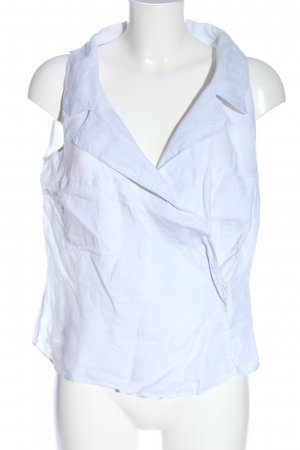 Weekend Max Mara Linen Blouse white elegant
