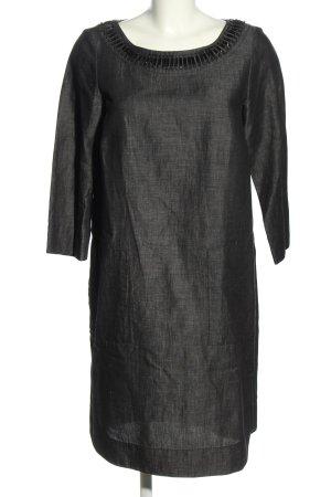 Weekend Max Mara Midi Dress light grey flecked casual look
