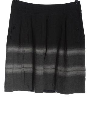 Weekend Max Mara High Waist Skirt black-light grey color gradient casual look