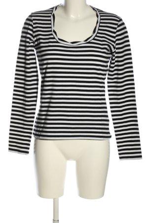 Weekend Max Mara Stripe Shirt black-white allover print casual look