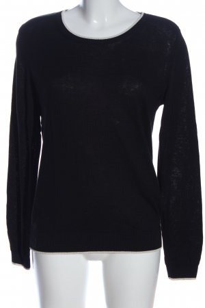 Weekend Max Mara Rundhalspullover schwarz Casual-Look