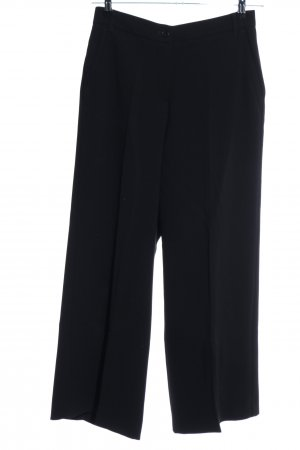 Weekend Max Mara Stoffhose schwarz Business-Look