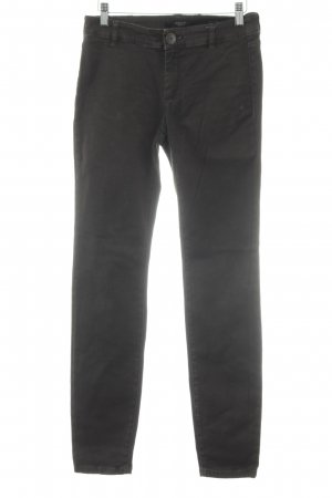 Weekend Max Mara Stretch Jeans dunkelbraun Casual-Look