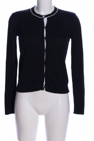 Weekend Max Mara Strick Cardigan schwarz Casual-Look