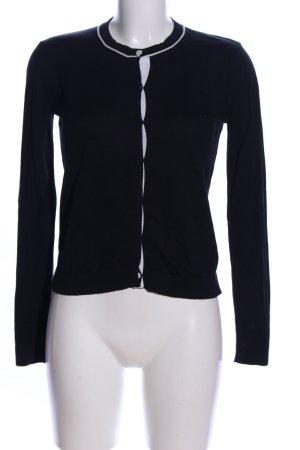Weekend Max Mara Knitted Cardigan black casual look