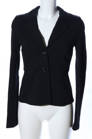 Weekend Max Mara Sweatblazer schwarz Business-Look