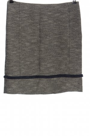 Weekend Max Mara Jupe en tweed bleu-blanc imprimé allover style décontracté