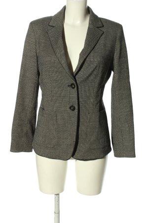 Weekend Max Mara Blazer in lana grigio chiaro puntinato stile professionale