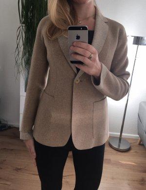 Weekend Max Mara Woll-Blazer Favilla beige Wolle Blazer