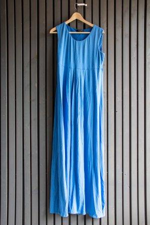 MaxMara Weekend Empire Dress cornflower blue lyocell