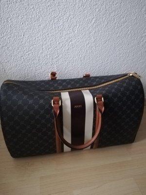Joop! Weekender Bag grey-light brown