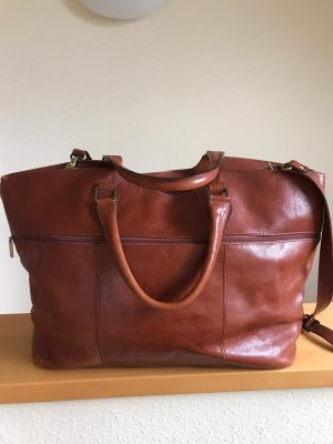 Borsa da weekend cognac