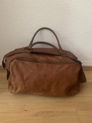 Legend Weekender Bag cognac-coloured-brown
