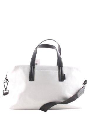 Weekender silberfarben-schwarz schlichter Stil