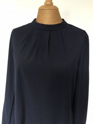Esprit Colletto camicia blu scuro