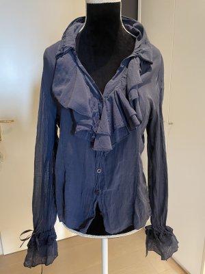 Weiche Bluse aus Seide-Cotton Gemisch