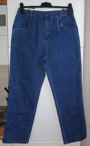 Charles Vögele Stretch jeans donkerblauw Katoen