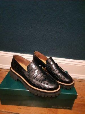 Paul Green Zapatos formales sin cordones negro