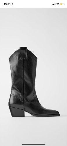 Zara Western Booties black