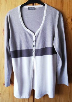 Selection by Ulla Popken Veste en tricot multicolore