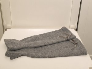 Accessorize Mitaine gris clair-gris laine angora