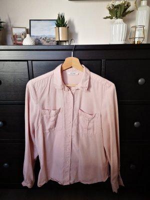 Weiche, rosa Bluse