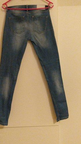 weiche Stretch-Jeans skinny Gr 34