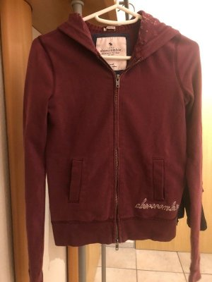 Abercrombie & Fitch Sweat Jacket multicolored cotton
