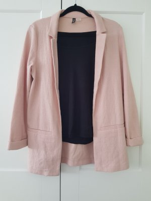 H&M Divided Blazer sweat rosa antico