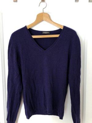 Repeat Pullover in cashmere viola scuro
