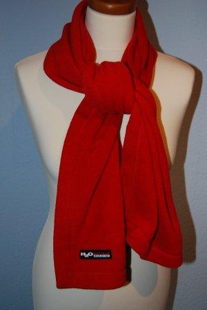 weicher Fleece Schal von H2O in tollem rot