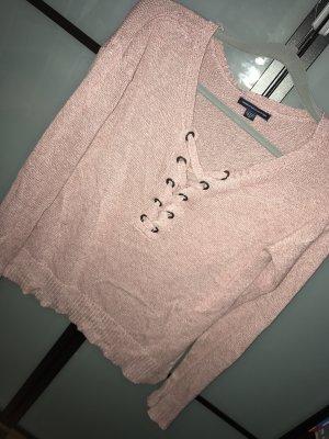 American Eagle Outfitters Shirt met lange mouwen roségoud