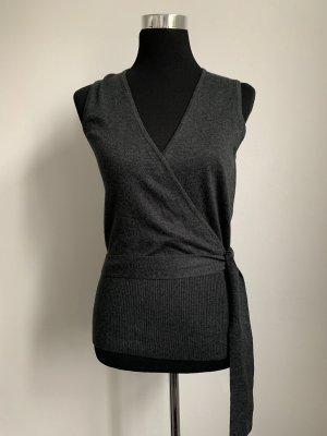 Weicher grauer Pullover/Pullunder